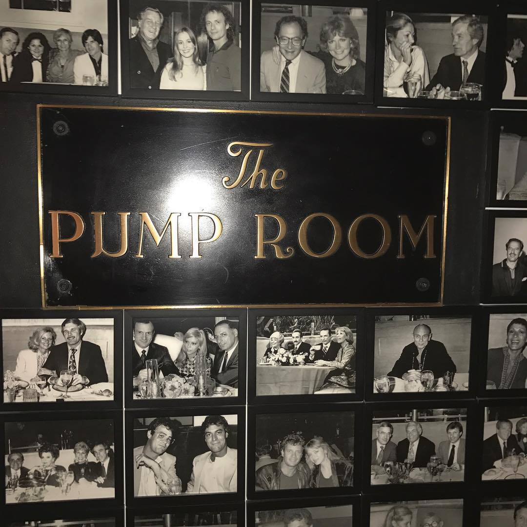 Made it to the famous @chicagopumproom and saw some great photos from a restaurant that was a Chicago Institution. Watch my story and see how many celebs you can identify! #chicago
