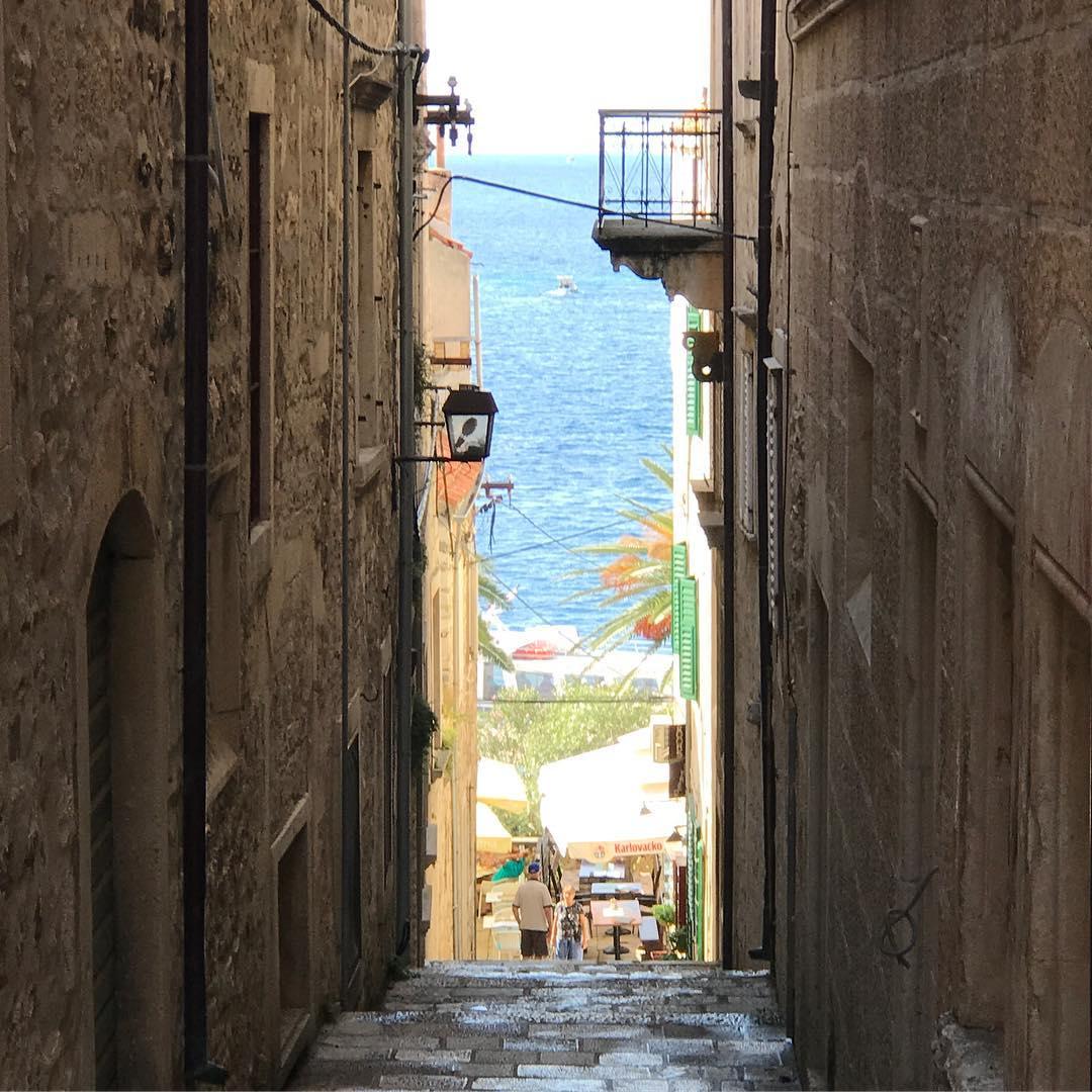 #korcula is such a beautiful charming little town. #korcula #croatia #weeklydish #stephaniesdish