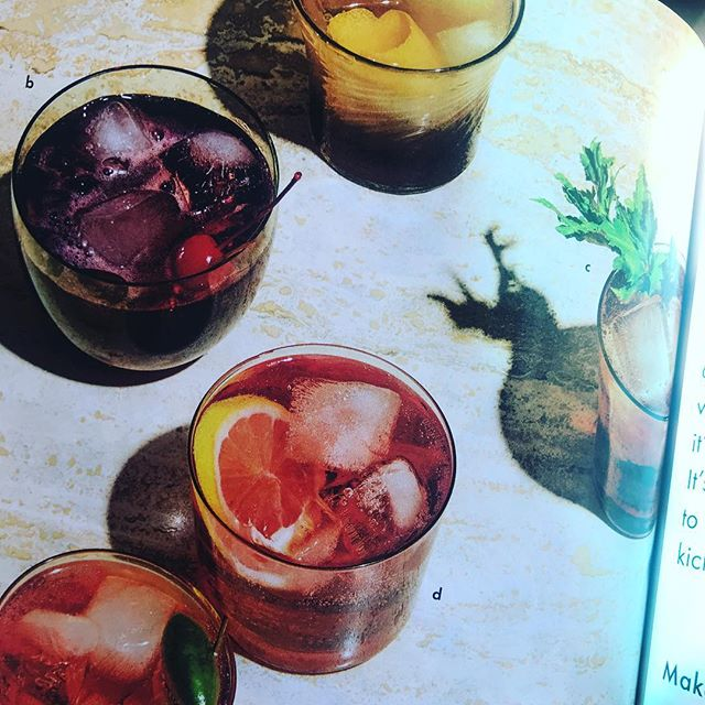 Count them…. 6 Spritz recipes in The New Essential issue of @bonappetitmag Looking forward to making all 6. #summerspritz
