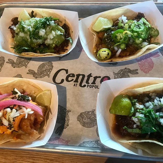 Finally made it to @centro_mpls and really liked it! Casual chill vibe, cocktails on tap and tacos! I really liked the chorizo and potato and the beef tongue tacos! Will definitely make it back . A little bird told me @popolvuh_mpls will be open 8.15 #tacos #minneapolis #northeast #stephaniesdish #weeklydish #popolvuh