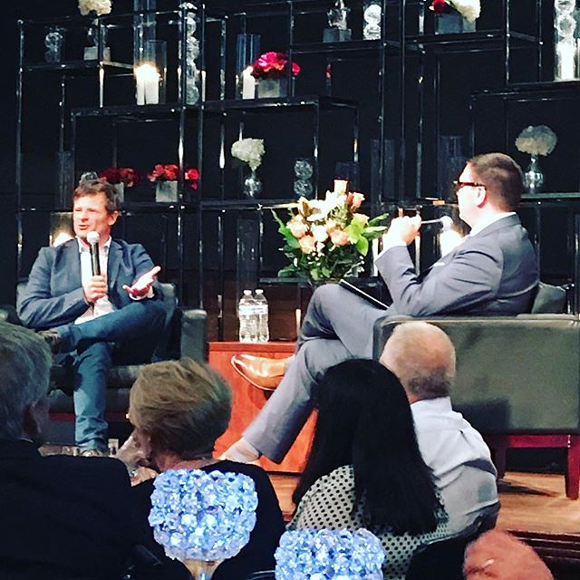@steve.zahn and @jasonmatheson talking about film and the @twincitiesfilmfest at the Gala! . . #twincitiesfilmfest, #stevezahn, #supportthearts #film #twincities