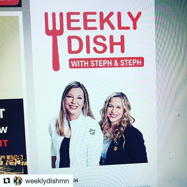 #Repost @weeklydishmn ・・・ New Weekly Dish photos and logo!  Fresh is good in 2018! . . #weeklydish #weeklydishmn #local #stephaniesdish #makersofmn #podcast #podcasts #podcastone #mytalk1071