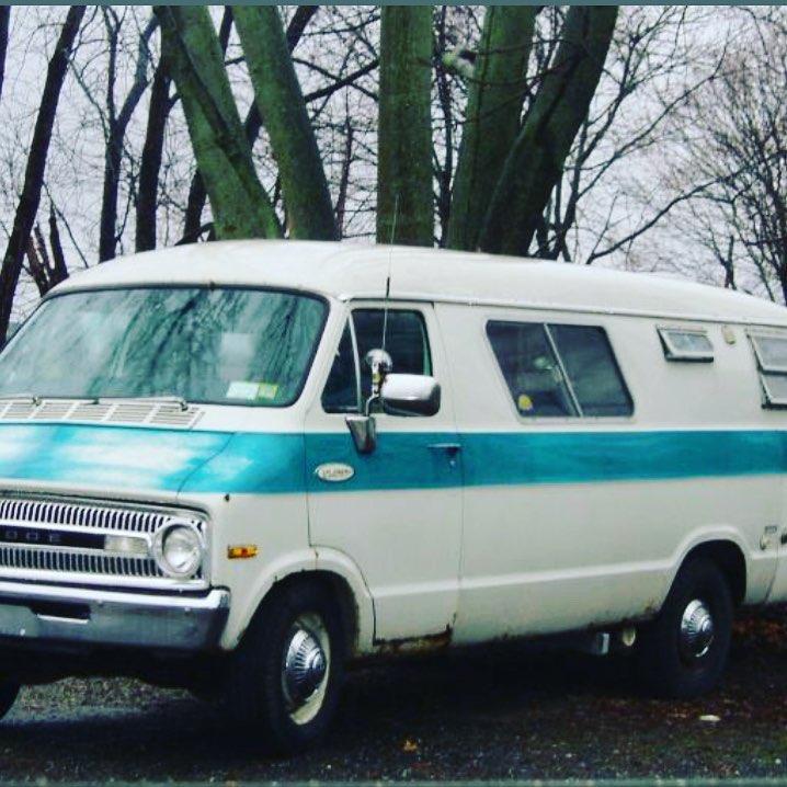 Yep. I am the proud owner of a 1972 Dodge Xplorer. #vanlife is for real! Only a few rust spots, ripped upholstery, gas leaks etc. . . . #itshappening #vanlife #vanlifediaries #weboughtavan #wonderbreadvan