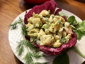Tuna pasta salad | What to do with hard boiled eggs
