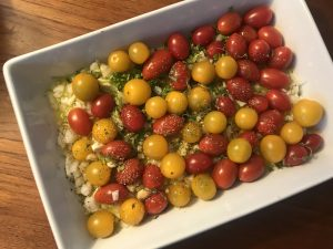 Baked Rice with Tomatoes and Garlic | Stephanie's Dish | Stephanie Hansen