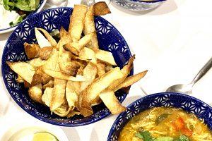 Southwest Chicken Soup in the Instant Pot | Stephanie Hansen | Stephanie's Dish