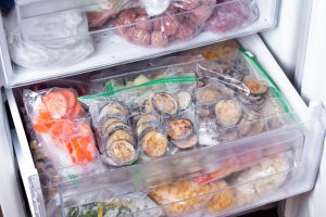 A freezer drawer | Foods You Can Freeze