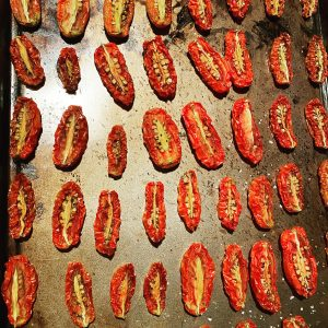 Roasted Roma Tomatoes