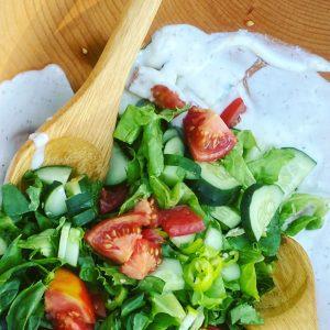 Creamy Summer Dill Salad Dressing