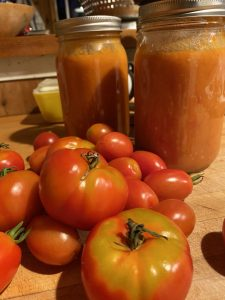 Fresh Tomatoes and Butter Tomato Sauce