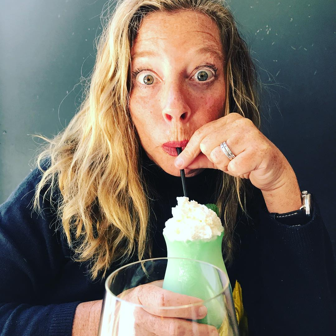 The Shamrock adult Shake  @freehousempls was a real smooth sipper. Yum.! I'll be Irish if I get to drink these! 📷@hall_ee . . . #shamrockshake #adultbeverages #stephaniesdish #weeklydish #lucky #adultshakes